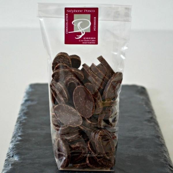 Sachet de Fèves de Chocolat de Stéphane Pasco Chocolatier à Nantes et Vertou