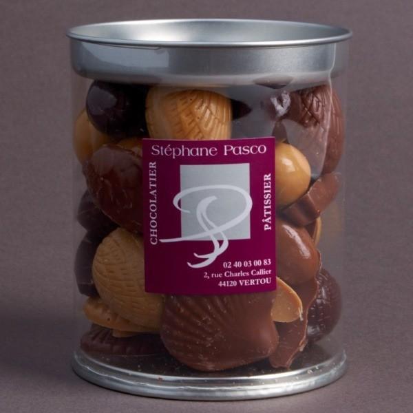 Quality Fritures de Pâques, Assortiment de Chocolat Noir, Lait et Dulcey de Stéphane Pasco
