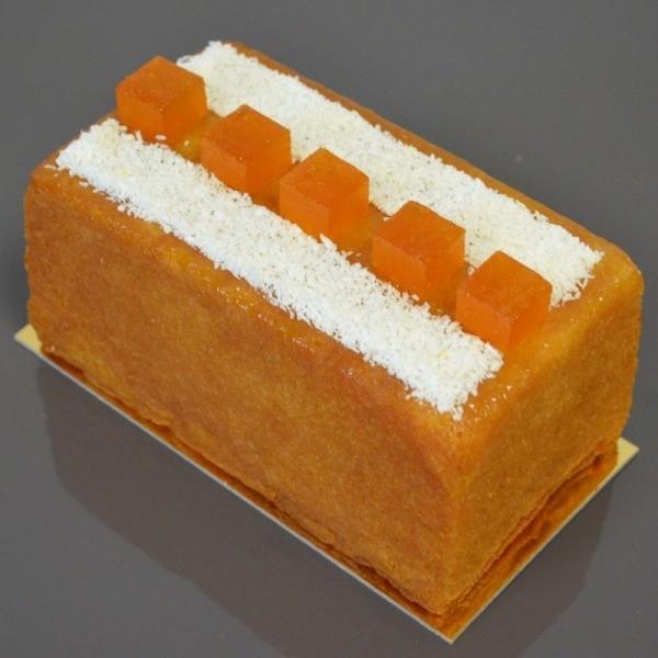 Cake aux saveurs exotiques du Fruit de la Passion et de la Noix de Coco