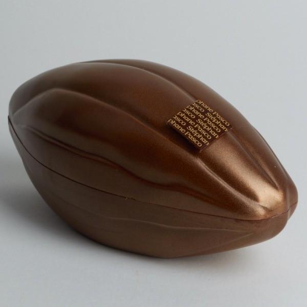 Moulage Cabosse de Pâques en Chocolat Noir de Stéphane Pasco