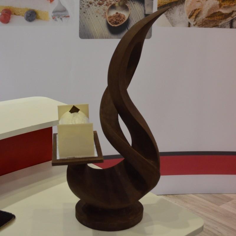 Pièce en Chocolat réalisé pour le Salon Serbotel 2017 par Stéphane Pasco
