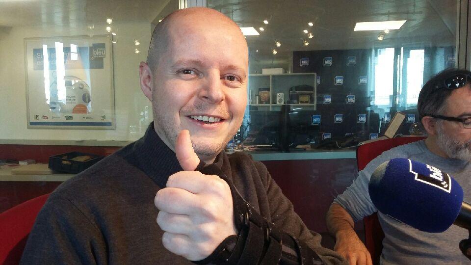 Stéphane Pasco était l'invité de l'émission la Vie en Bleu
