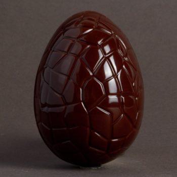 Moulage Oeuf de 60 g en Chocolat Noir de Stéphane Pasco
