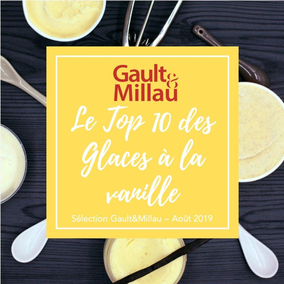 Le Classement Gault&Millau 2019 des meilleurs Glaces à la Vanille