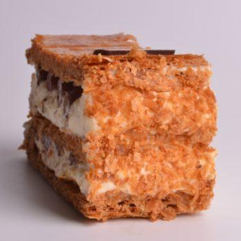 Mille Feuilles Vanille Chocolat Noir de Stéphane Pasco, deux fois plus de saveurs
