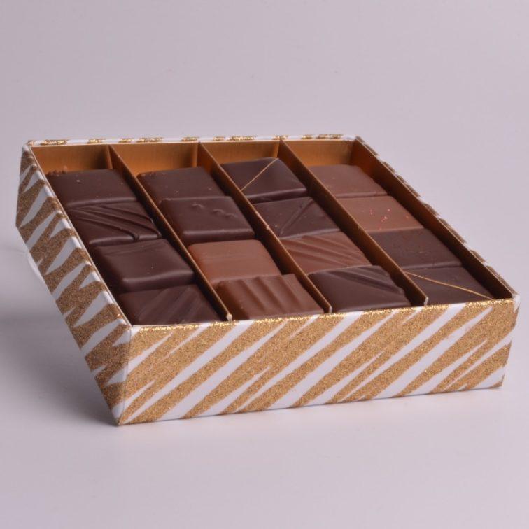 Boîte de Chocolat Belay de Stéphane Pasco, pour les Fêtes de Noël