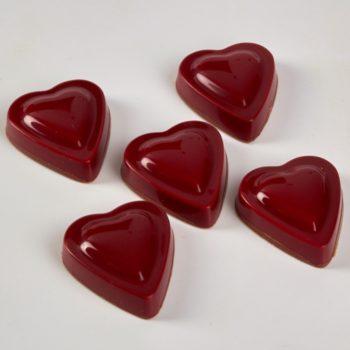 Bonbons Cœurs Chocolat Caramel de Stéphane Pasco