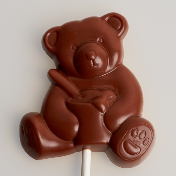 Sucette au Chocolat de Stéphane Pasco, Chocolatier à Nantes et à Vertou, toute en gourmandise