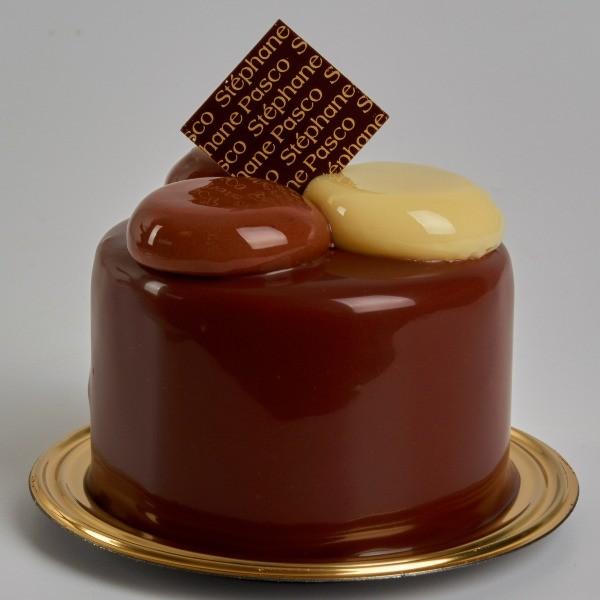 Pâtisserie Ana de Stéphane Pasco, équilibre parfait du Chocolat Noir et du Citron