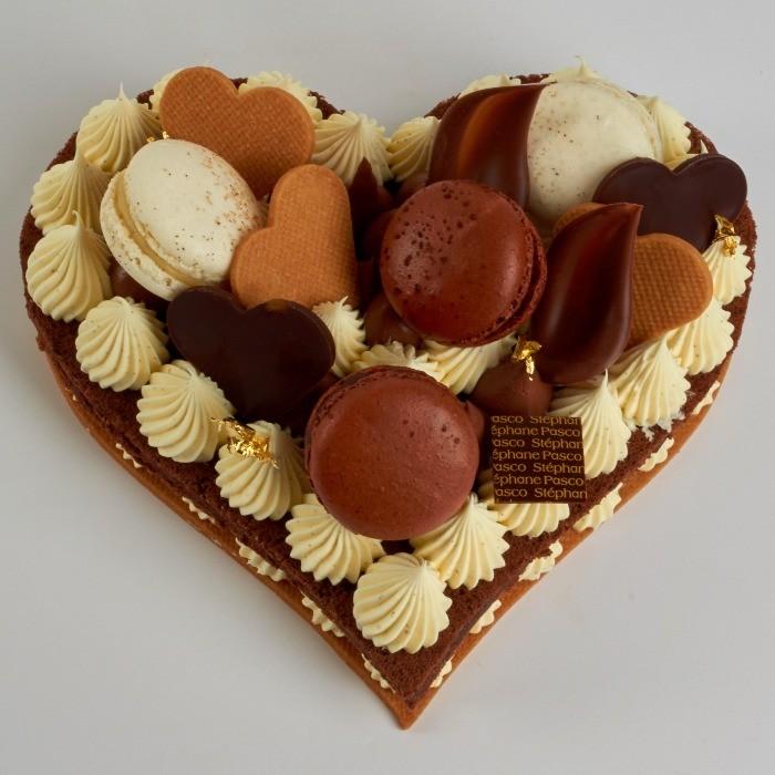 Number Cake en forme de Coeur, de Stéphane Pasco