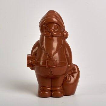 Père Noël en Chocolat Lait de Stéphane Pasco