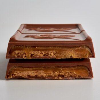 Tablette Sablée de Stéphane Pasco, Caramel, Sablé Breton et Chocolat Lait