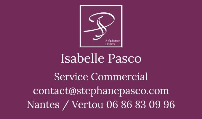 [Carte de Visite Service Commercial de la Maison Stéphane Pasco, Pâtissier Chocolatier]
