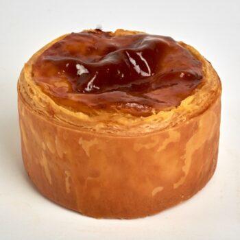 Flan Pâtissier de Stéphane Pasco, entre Crème Vanille de Madagascar et Feuilletage Pur Beurre, entre tradition et gourmandise