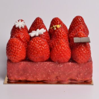 Fraisier, un Classique de la Pâtisserie française, de Stéphane Pasco Pâtissier Chocolatier à Nantes et Vertou