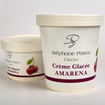 Crème Glacée Amarena de Stéphane Pasco, Artisan Glacier à Nantes