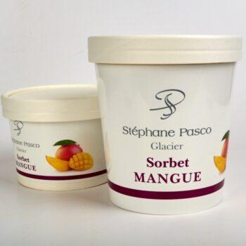 Sorbet Mangue de Stéphane Pasco, Artisan Glacier à Nantes