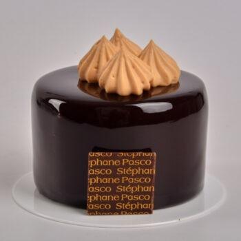 Pâtisserie Pécan de Stéphane Pasco, entre Chocolat Noir, Caramel et Noix de Pécan, Patissier à Nantes