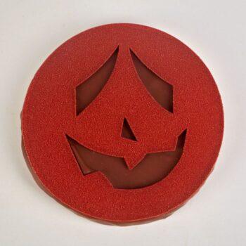 Citrouille Halloween de Stéphane Pasco, en Chocolat Lait et Praliné Amande Noisette
