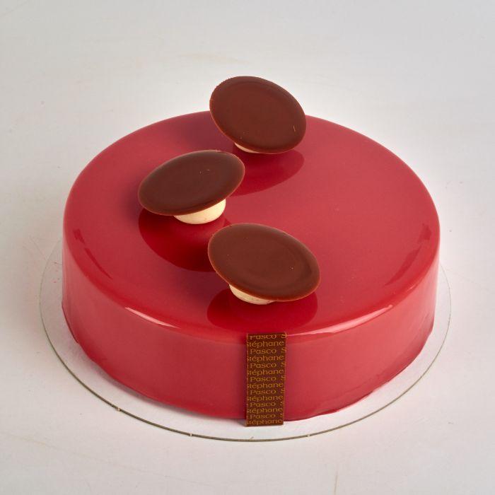Pâtisserie Précieux 4 personnes de Stéphane Pasco, entre saveurs Chocolat, Framboise et Vanille