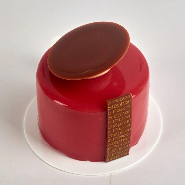 Pâtisserie Précieux individuelle de Stéphane Pasco, entre saveurs Chocolat, Framboise et Vanille